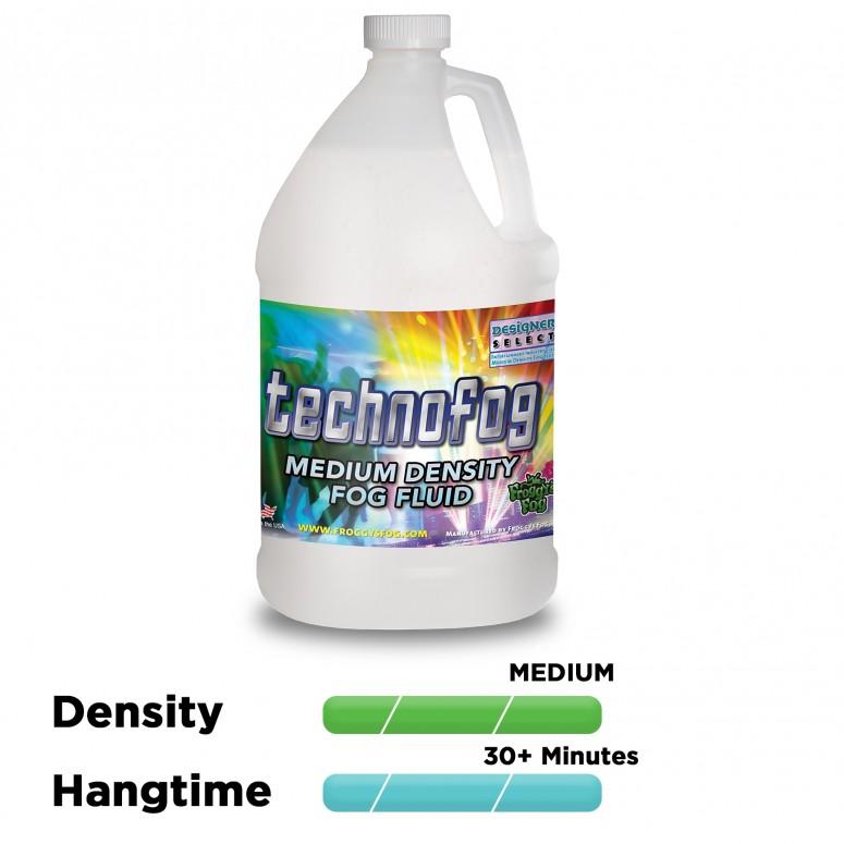 Techno Fog® - DJ and Club Mix - Medium Density Fog Machine Fluid - Fog Juice