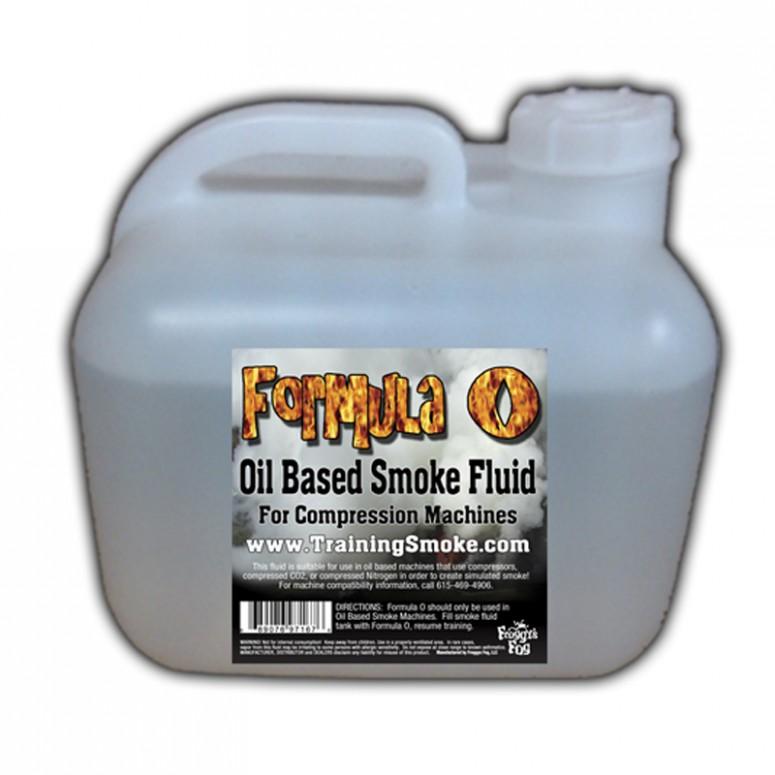 TrainingSmoke - Formula O Oil Based Smoke Fluid - 2.5 Gallon Square