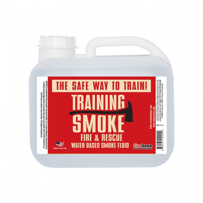 Training Smoke - Fire & Rescue Fog - Long Hang Time, Water Based - 2.5 Gallon Square