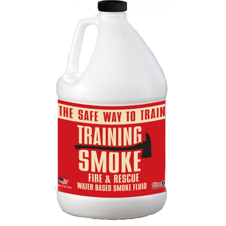 Training Smoke - Fire & Rescue Fog - Long Hang Time, Water Based - 1 Gallon