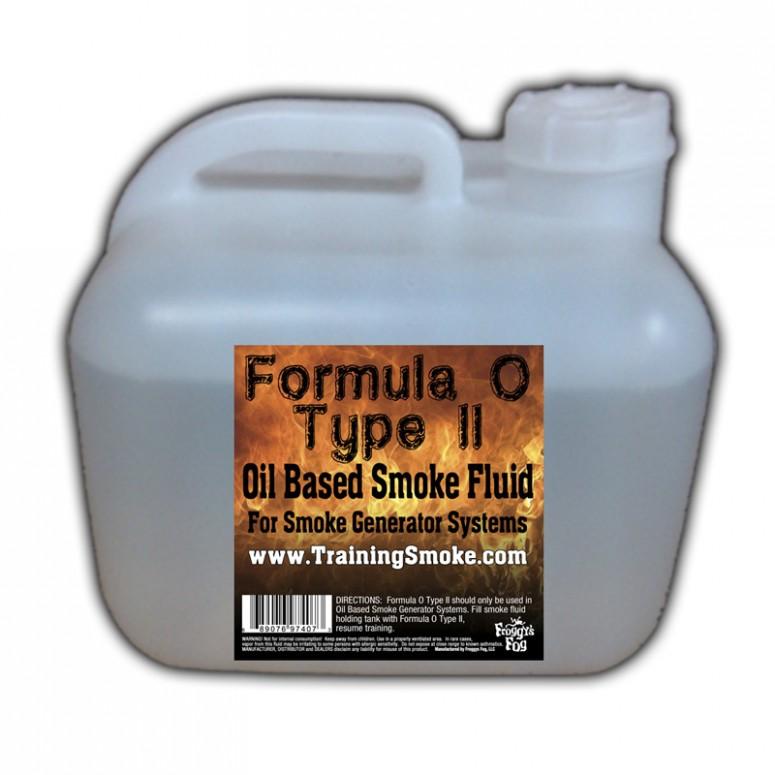 TrainingSmoke - Formula O Type 2 Oil Based Smoke Fluid - 2.5 Gallon Square