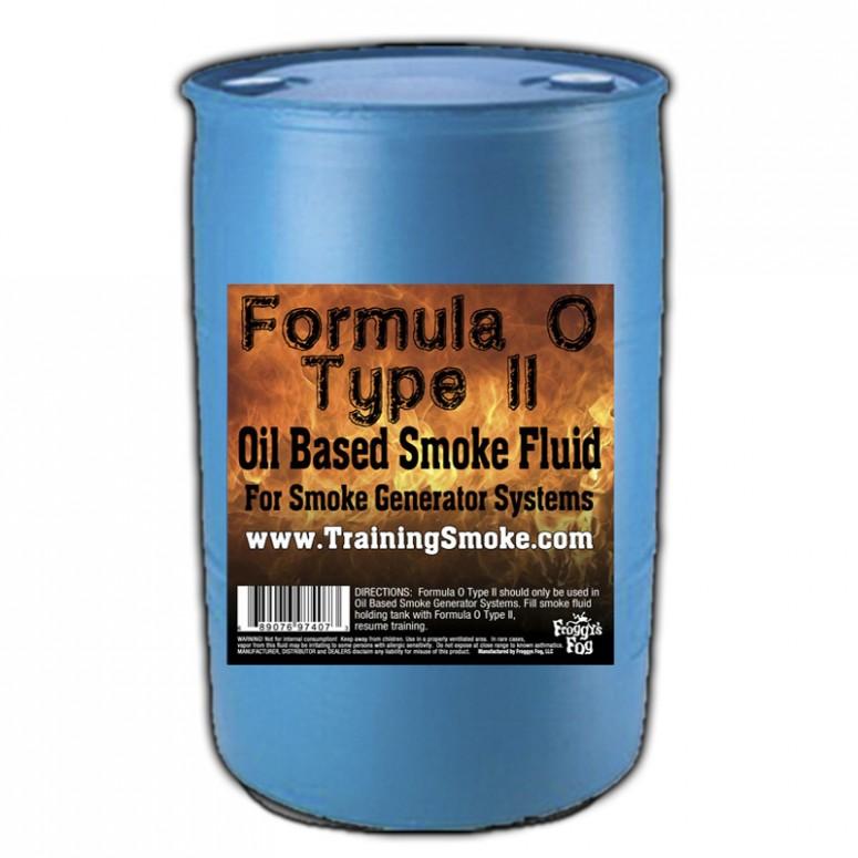 TrainingSmoke - Formula O Type 2 Oil Based Smoke Fluid - 55 Gallon Drum
