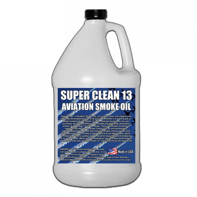 Super*Clean 13 Aviation Smoke Oil - Exact Spec Match to: Texaco Canopus 13 and Shell Vitrea 13 - 1 Gallon