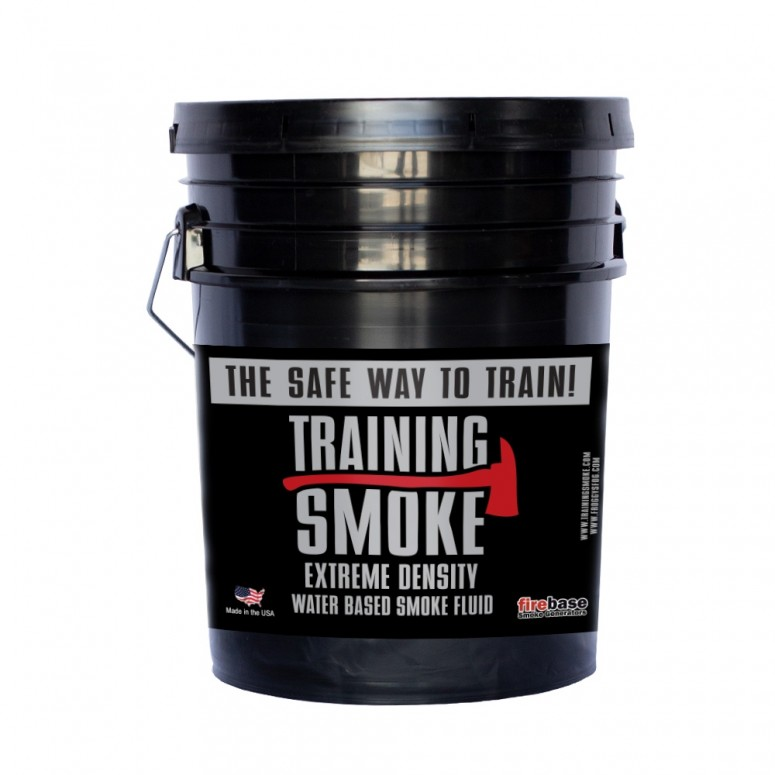Training Smoke XD - EXTREME DENSITY Fire & Rescue Fog - Water Based, Extreme Density, Long Hang Time - 5 Gallon Pail