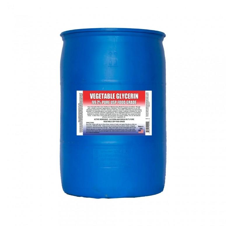 Kosher Glycerin >=99% - Food Grade USP - 55 Gallon