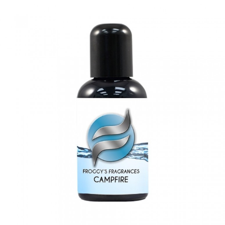 2 oz. CAMPFIRE - Water Based Scent Additive for Fog, Haze, Snow & Bubble Juice - Scents 4 Gallons