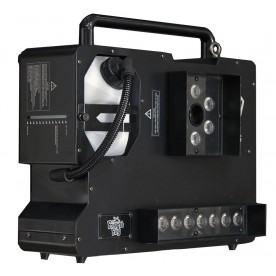 Hyperion D6 ‐ Dual Color ‐ 1500 Watts, 2 Color Smoke ‐ Upshot Fog Machine w/ HEX LEDs - Profile