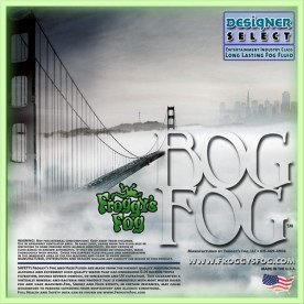 Bog Fog - Extreme High Density Fog Juice - HDF Fog Machine Fluid