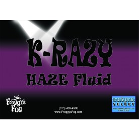 Krazy Haze - Professional Water Based Haze Juice - For Martin K-1 Hazers