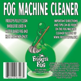 Fog Machine Cleaner - Froggys Fully Clean
