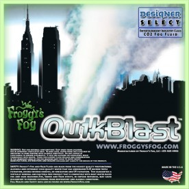 QuikBlast® Fog Juice - CO2 Blast Effect Fog Machine Fluid - Best Fluid for Chauvet® DJ Geyser