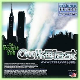 Quick Blast Fog Juice - CO2 Blast Effect Fog Machine Fluid - Best Fluid for Chauvet® DJ Geyser
