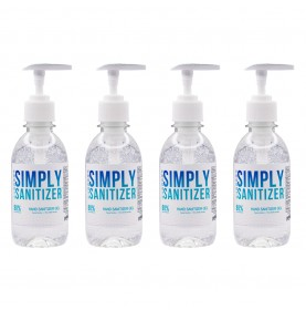 8oz Hand Sanitizer 4 Pack