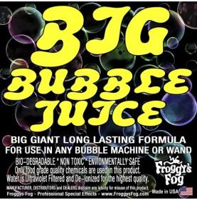 BIG Bubble Juice - Enormous Long-Lasting Bubble Fluid -