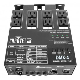 Chauvet DJ - DMX-4 - Provides DMX control for on/off or dimming to non-DMX fixtures