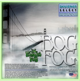 Bog Fog - Extreme High Density Fog Juice - HDF Fog Machine Fluid