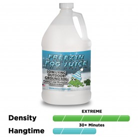 Freezin Fog - Outdoor / Graveyard Low Lying Ground Fog Machine Fluid - Fog Juice