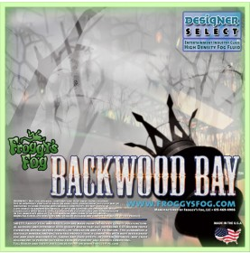 Backwood Bay® - Extremely Long Lasting Fog Juice Machine Fluid