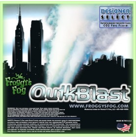 Quick Blast Fog Juice - CO2 Blast Effect Fog Machine Fluid - Best Fluid for Chauvet® DJ Geyser