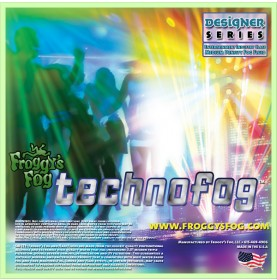 Techno Fog® - DJ and Club Mix - Medium Density Fog Machine Fluid - Fog Juice