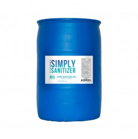 50 Gallon Drum - Froggy's Simply Sanitizer™ - Gel Hand Rub Formulation