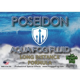 Aqua Fog Fluid - Long Distance Application - Label