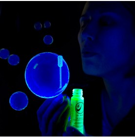 Tekno Bubbles - BLUE UV Blacklight Reactive