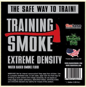 Training Smoke XD - EXTREME DENSITY - Water Based Smoke Fluid