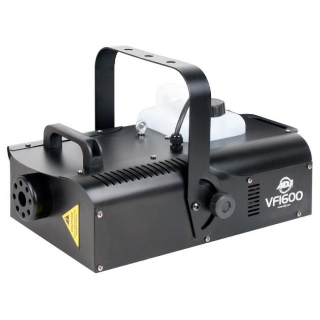 American DJ - VF1600 - 1500 Watt Fog Machine - DMX, Wireless and Timer Remote, 8 Minute Heat Up, 20,000 CFM