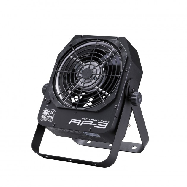 Antari AF-3 Fan - New Compact, DMX Fog Distribution Variable Speed Fan - Mounting Yoke - tilt