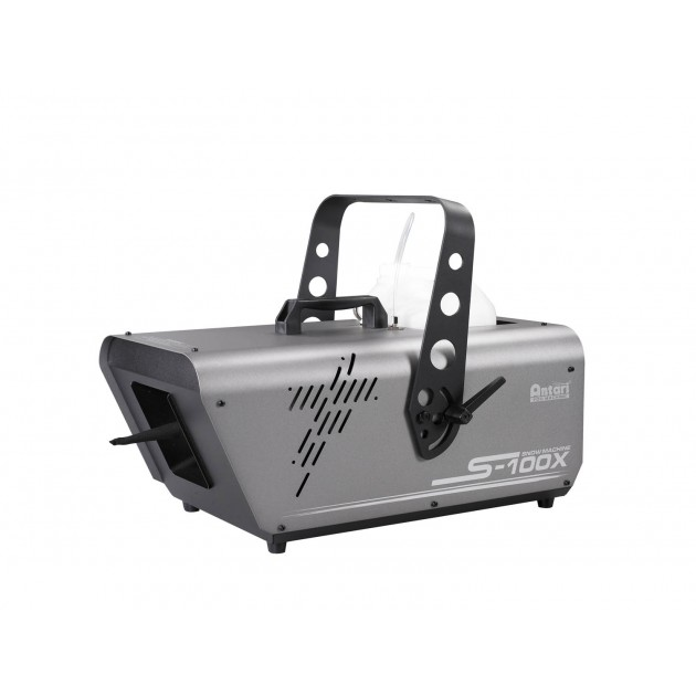 (Backordered Ships 2/21) Antari S-100X Snow Machine - High Output, DMX Control + SC-2 Manual Remote