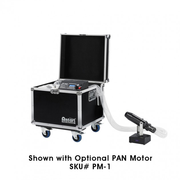 Antari S-500 Snow Machine - 1,200 Watts, Extendeable Nozzle, Travel Case with 20L Tank