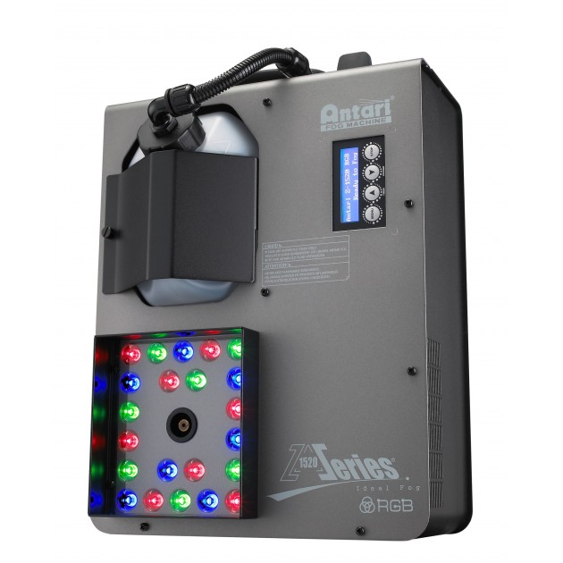 (Backordered) Antari Z-1520 RGB - Colored Co2 Effect Sumulator - 1500 Vertical Fogger with COB RGB LED Technology