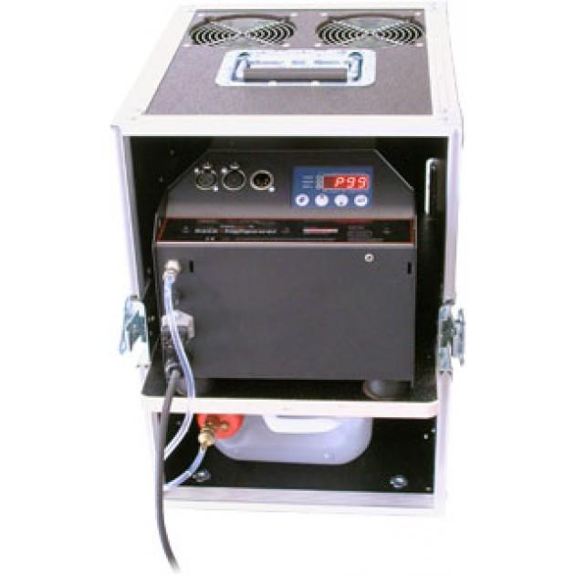 HazeBase Base High Power Cased - Amptown Cased 2600 Watt 220V Compact Powerful DMX Fog Machine
