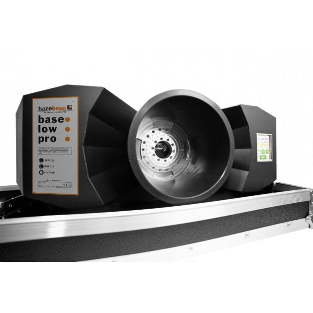 Hazebase Base Low Pro - CO2 Fog Chiller - Professional Class Output - Front