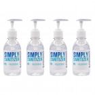 8oz Hand Sanitizer 4 Pack