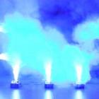 American DJ Fog Fury Jett - 700 Watt UPSHOT Fogger with DMX, Wireless Remote - 12x 3-Watt RGBA LEDs - 20,000 CFM - action blue