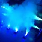 American DJ Fog Fury Jett - 700 Watt UPSHOT Fogger with DMX, Wireless Remote - 12x 3-Watt RGBA LEDs - 20,000 CFM - action multiple