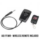 American DJ Fog Fury Jett - 700 Watt UPSHOT Fogger with DMX, Wireless Remote - 12x 3-Watt RGBA LEDs - 20,000 CFM - wireless
