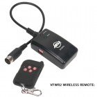 1300 Watt Fog Machine - Wireless and Manual Remote, 7 Minute Heat Up, 12,000 CFM - wireless remote