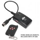 American DJ - VF1600 - 1500 Watt Fog Machine - DMX, Wireless and Timer Remote, 8 Minute Heat Up, 20,000 CFM - wireless remote