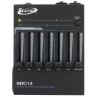 Antari SDC-12 Package - 12 Channel DMX Controller with DMX Power Trigger, 3Pin to 5 Pin Adapter and 25' 3 Pin DMX Cable - Front