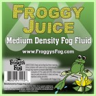 Froggy Juice - DJ and Club Mix - Medium Density Fog Machine Fluid - Label