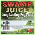 Froggys Fog - Swamp Juice (Extreme Hang Time Longest Lasting Fog Fluid) - Label