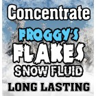 LONG LASTING Snow Juice Concentrate (Makes 880 Gallons) - (50-75 Feet Float / Drop) - 55 Gallon Drum