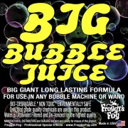 BIG Bubble Juice - Enormous Long-Lasting Bubble Fluid - 2.5 Gallon Square
