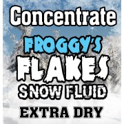 EXTRA DRY Snow Juice Concentrate (Makes 1 Gallon) - (<30 Feet Float / Drop) - 8 oz. Bottle
