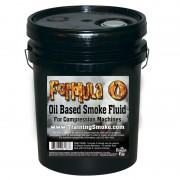 TrainingSmoke - Formula O Oil Based Smoke Fluid - 5 Gallon Pail