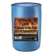 TrainingSmoke - Formula O Type 2 Oil Based Smoke Fluid - 55 Gallon Drum