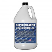Super*Clean 13 Aviation Smoke Oil - Exact Spec Match to: Texaco Canopus 13 and Shell Vitrea 13 - 1 Gallon